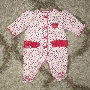 My first Christmas Footie